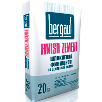 Bergauf Finish Zement