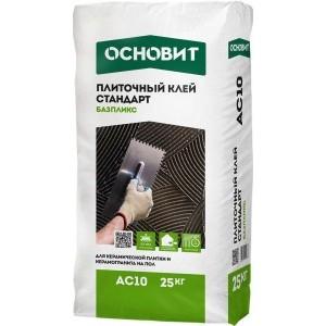 Клей для плитки Основит Стандарт Базпликс AC10