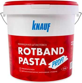 Шпаклевка Knauf Ротбанд — Паста Профи