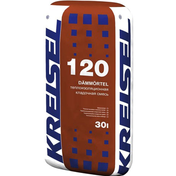 Кладочная смесь Kreisel Dämm-mauermörtel 120