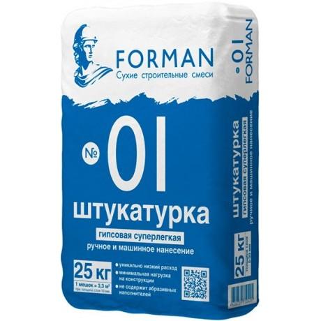 Штукатурка Forman 01