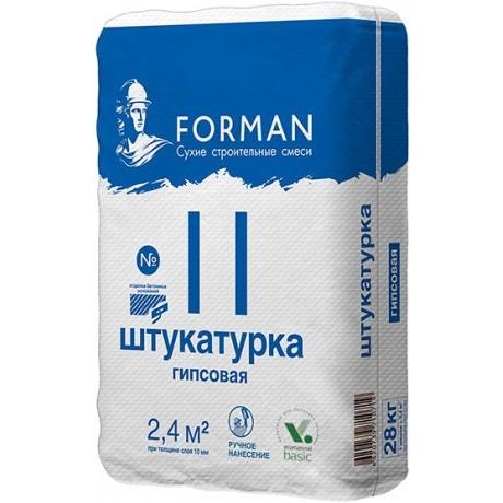 Штукатурка Forman 11
