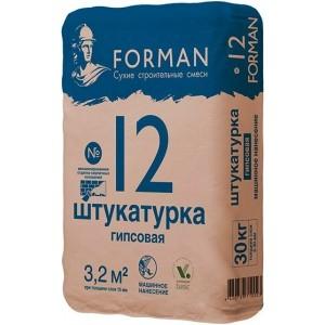 Штукатурка Forman 12