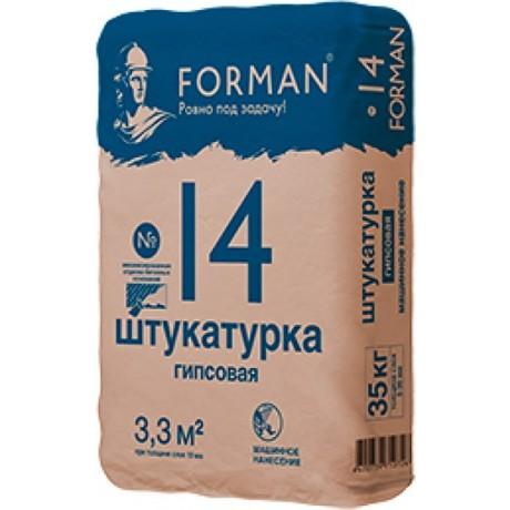 Штукатурка Forman 14