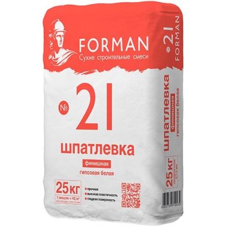 Шпаклевка Forman 21