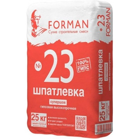 Шпаклевка Forman 23