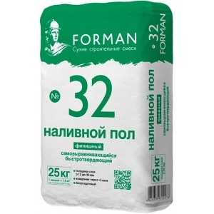Наливной пол Forman 32