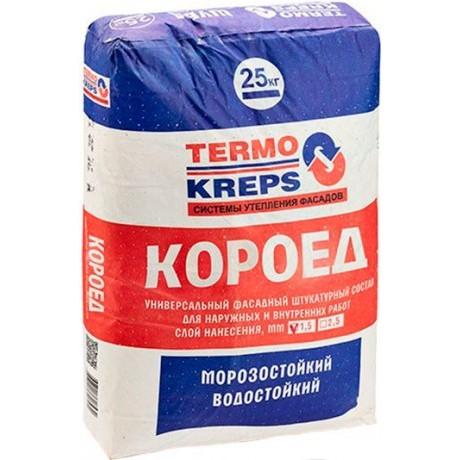 Штукатурка Крепс Termokreps Короед 2,5