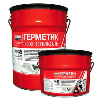 Герметик Бутилкаучуковы № 45 ТехноНиколь