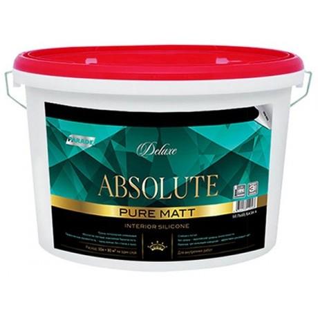 Краска интерьерная силиконовая Parade Deluxe Absolute pure matt База А