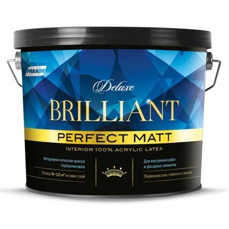 Краска интерьерная Parade Deluxe Brilliant perfect matt База А