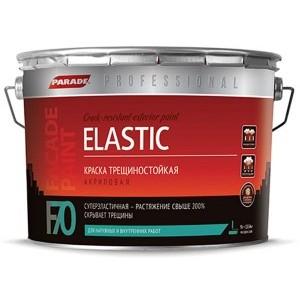 Краска фасадная трещиностойкая Parade F70 Elastic база А