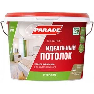 Краска акриловая Parade W1 Идеальный потолок
