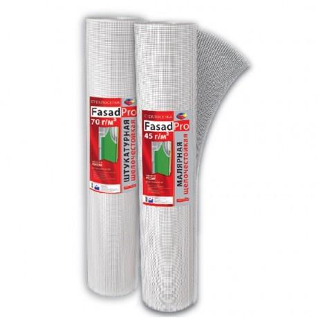 Fasad Pro 45 г/м2 Стеклосетка малярная