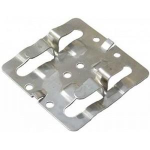 Кляммер рядовой нержавеющий AISI 430 8-10 мм для керамогранита