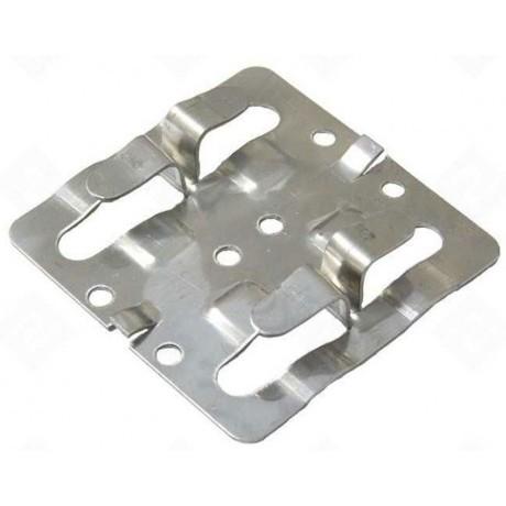 Кляммер рядовой нержавеющий AISI 304 8-10 мм для керамогранита