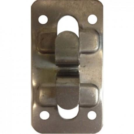 Кляммер угловой нержавеющий AISI 304 8-10 мм для керамогранита