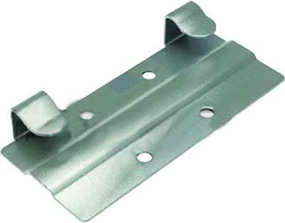 Кляммер стартовый нержавеющий КГ AISI 304 скрытое крепление для керамогранита