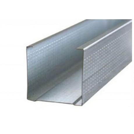 Профиль С-образный СО 80х25 для вентилируемых фасадов