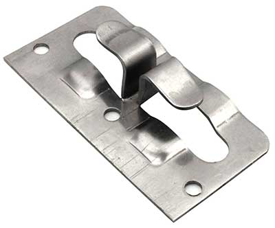 Кляммер угловой оцинкованный 8-10мм для керамогранита